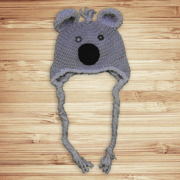 Koala Crochet Cotton Hat