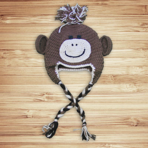 Monkey'n Around Crochet Hat