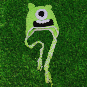 Monsters Inc. Mike Wazowski Crochet Beanie