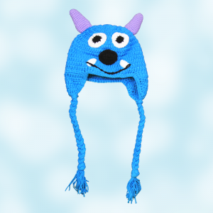 Monsters Inc. Sully Crochet Beanie